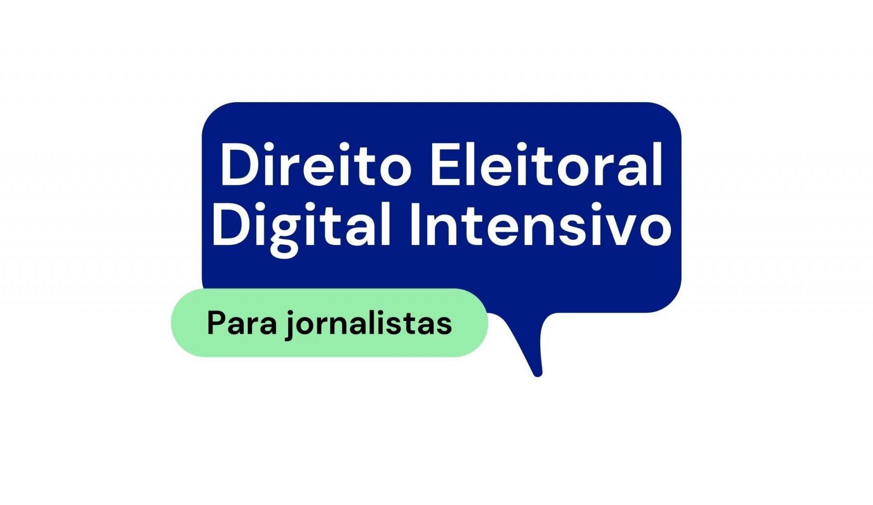 Curso de Direito Eleitoral Digital para Jornalistas